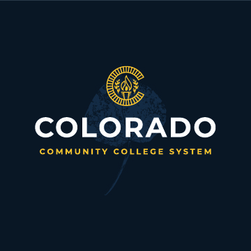 Colorado Community College System logo styled