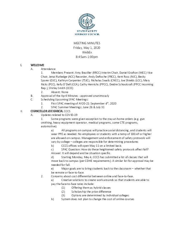 2020-05-01 SFAC Approved Minutes PDF