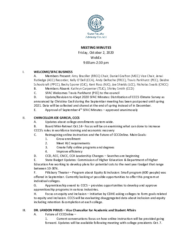 2020-10-02 SFAC Official Minutes PDF