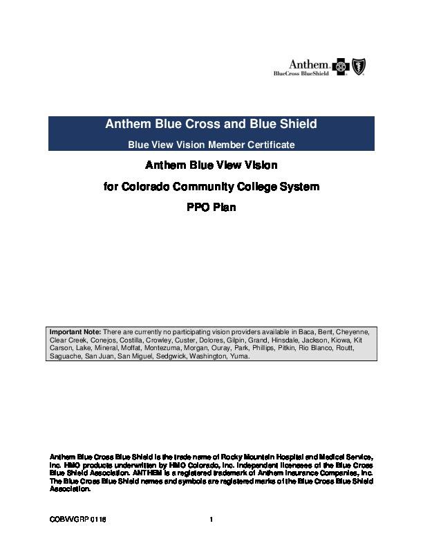 2018 Vision PPO EOC PDF