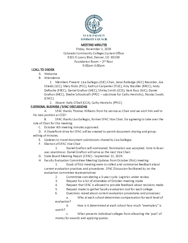 2019-11-01 SFAC Approved Minutes PDF