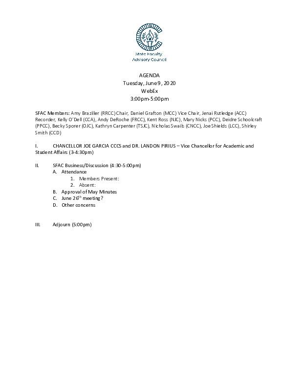 2020-06-09 SFAC Agenda PDF