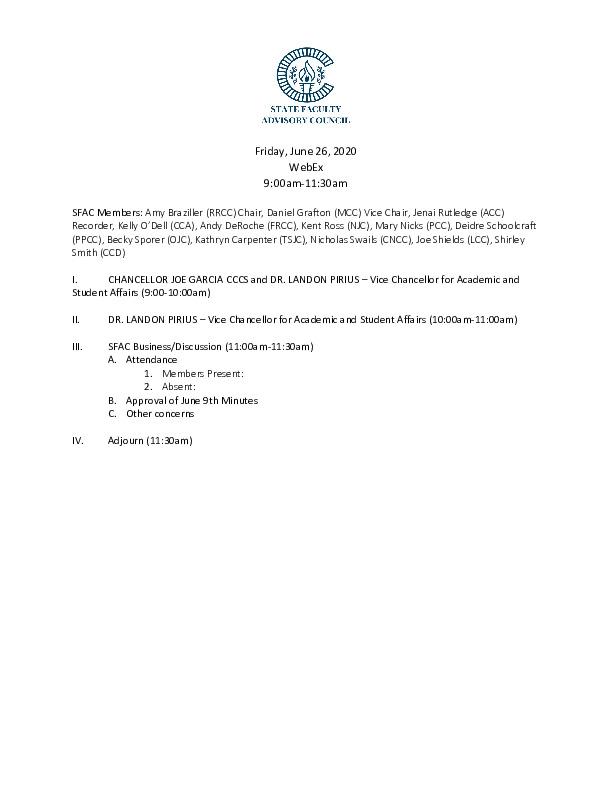 2020-06-26 SFAC Agenda PDF