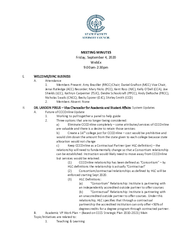 2020-09-04 SFAC Official Minutes PDF