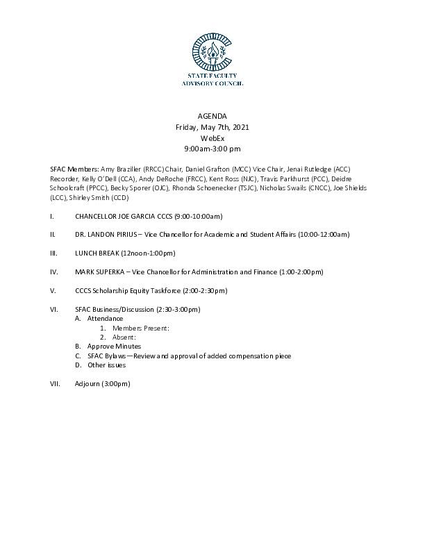 2021-05-07 SFAC Agenda PDF
