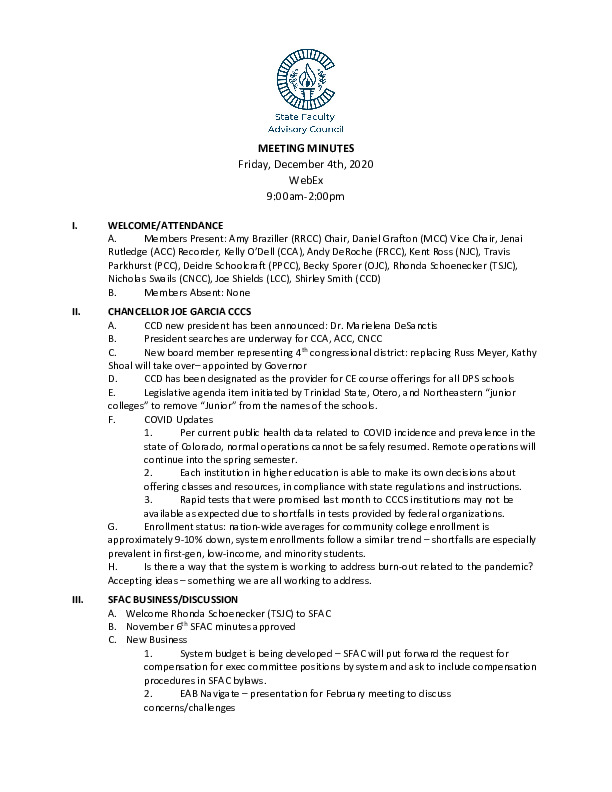 2020-12-04 SFAC Official Minutes PDF