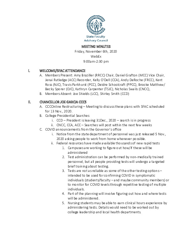 2020-11-06 SFAC Official Minutes PDF