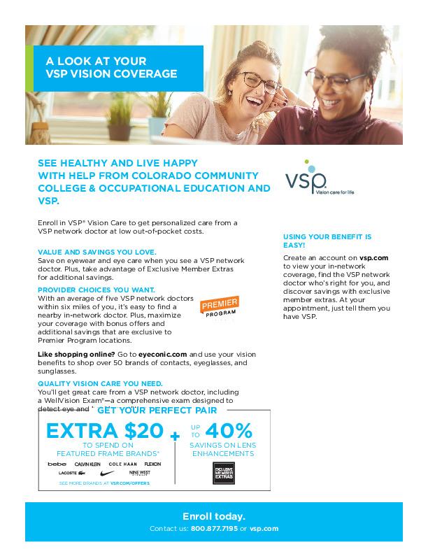 VSP Benefit Summary PDF