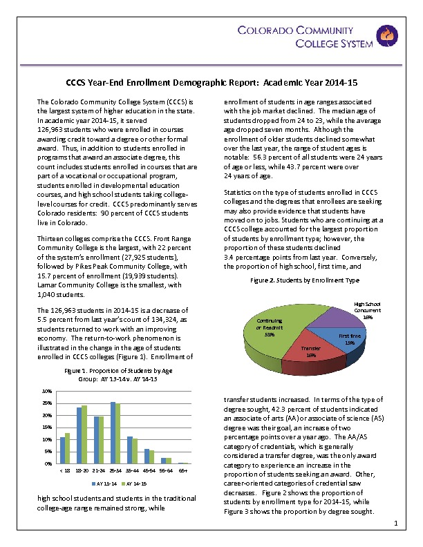 2014-15 Year-end Demographic Report PDF