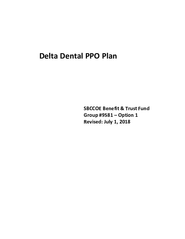 Delta Evidence of Coverage – Opt I PDF