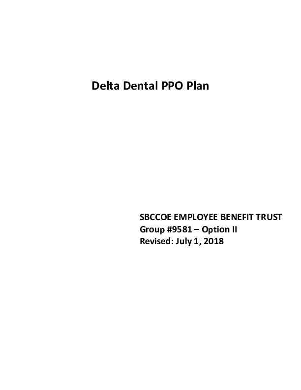 Delta Evidence of Coverage – Opt II PDF