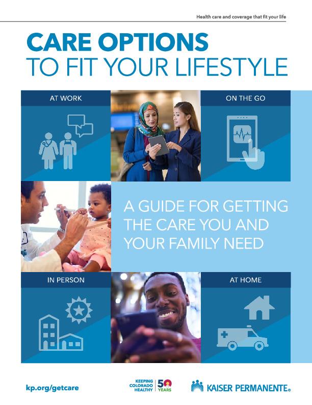 Kaiser Care Options Guide PDF
