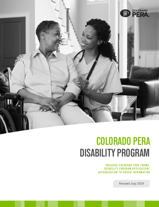 PERA Disability Programs PDF