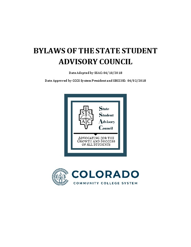 SSAC Bylaws PDF