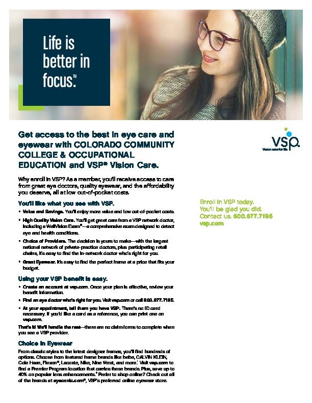 VSP Information 2019-20 PDF